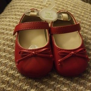 🆕️ Baby Girl Red Shoes